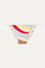 Solid & Striped The Bianca printed bikini briefs