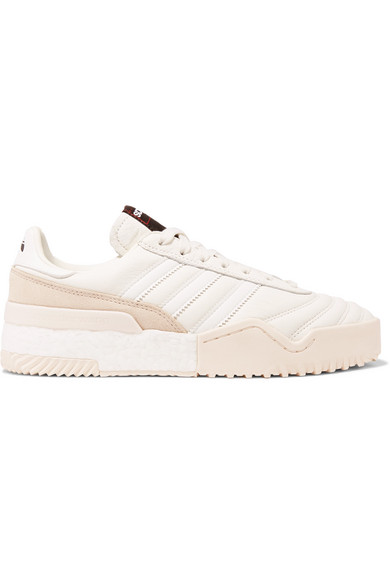 Adidas Originals By Alexander Wang Sneakers BBall Soccer leather and suede sneakers