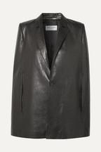 995810616562 Saint Laurent Leather cape