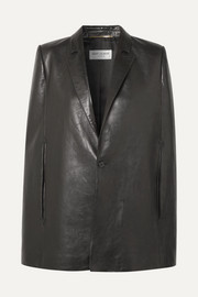 Saint Laurent Cape aus Leder