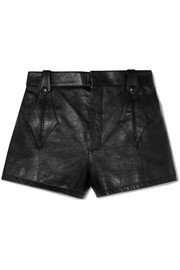 Saint Laurent Shorts aus Leder