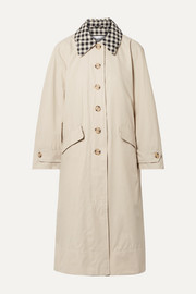 + ALEXACHUNG Glenda cotton-blend coat