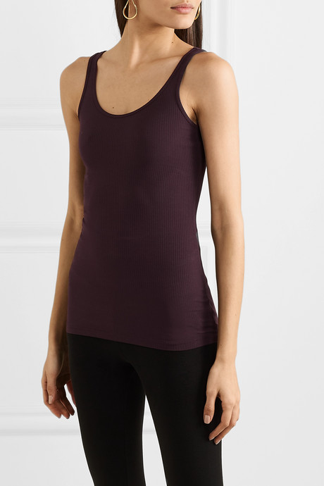 The Daily ribbed stretch-Supima cotton tank