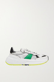 Bottega Veneta Speedster leather and mesh sneakers