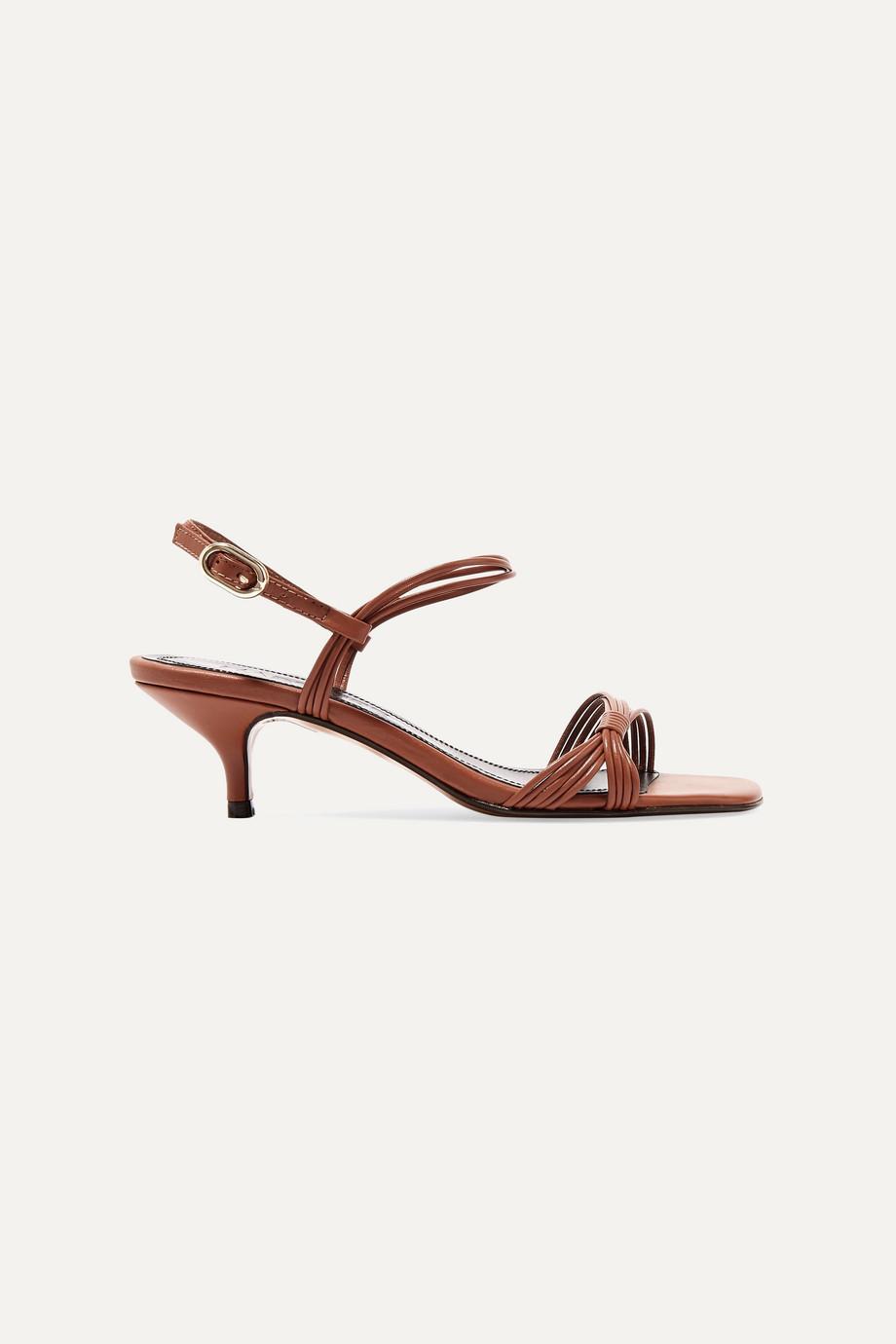 Souliers Martinez Guardamar leather sandals