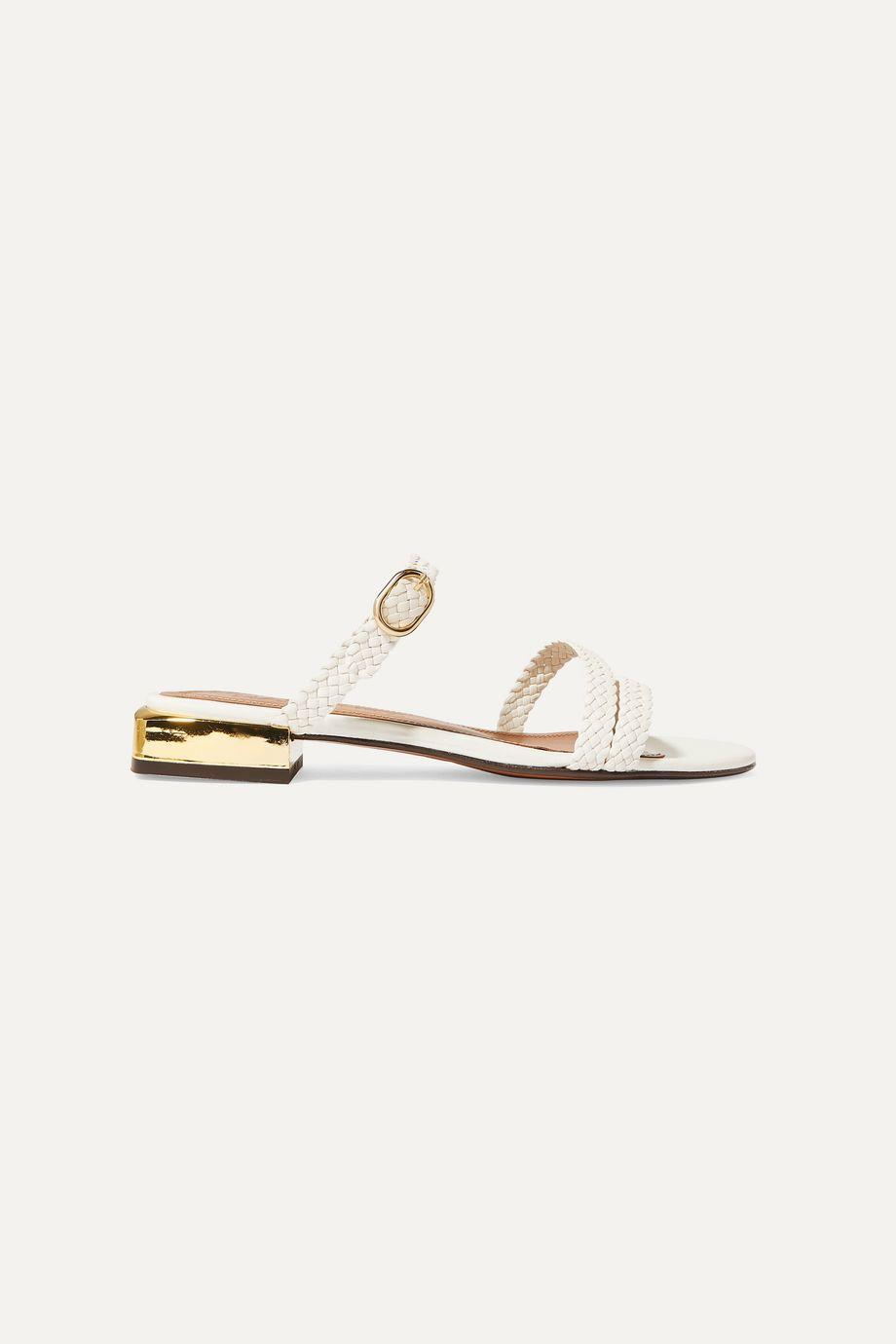 Souliers Martinez Granada braided leather sandals