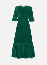 The Vampire's Wife Festival cotton-corduroy maxi dress