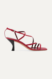 STAUD Gita leather sandals