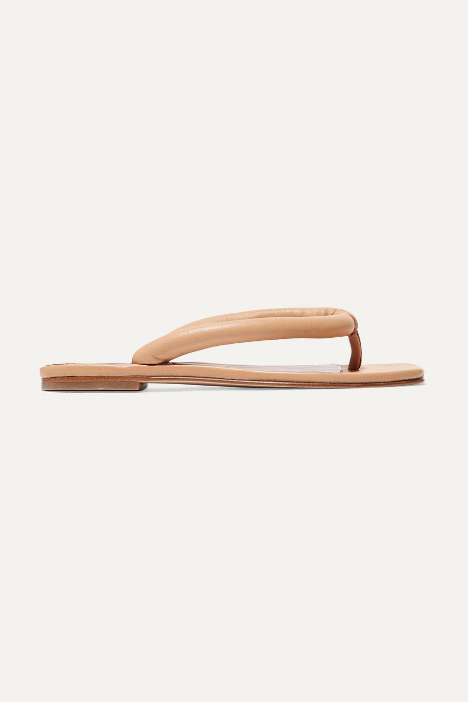 STAUD Rio leather sandals
