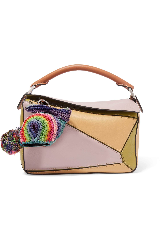 Loewe + Paula's Ibiza Bunny raffia bag charm