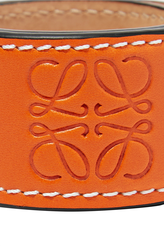 Loewe Logo 压花皮革手环