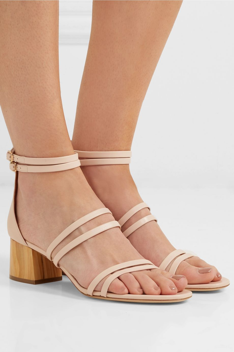 Malone Souliers Elyse 50 leather sandals