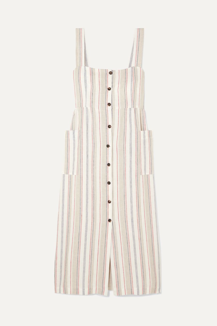 Giuliva Heritage The Giuditta striped linen dress