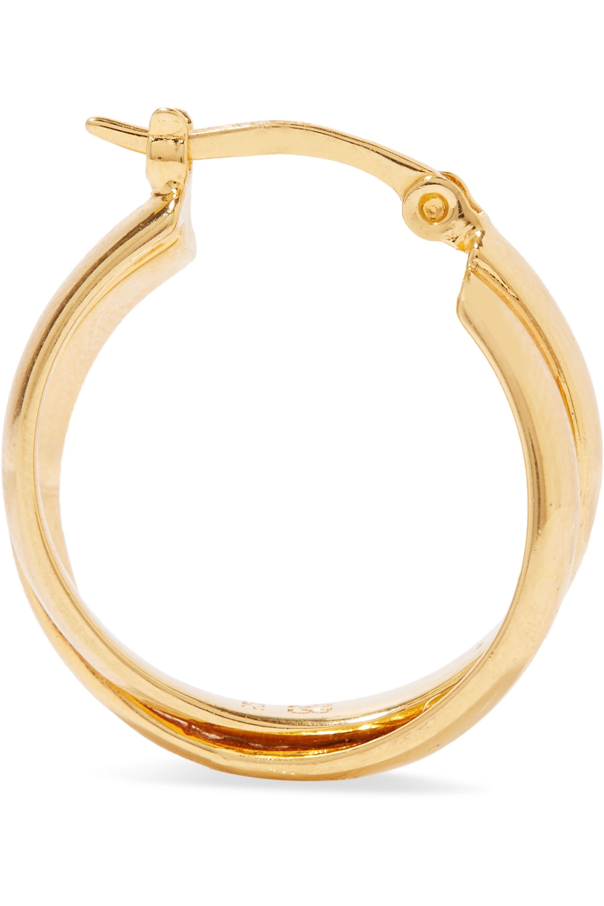 Sophie Buhai Gold vermeil hoop earrings