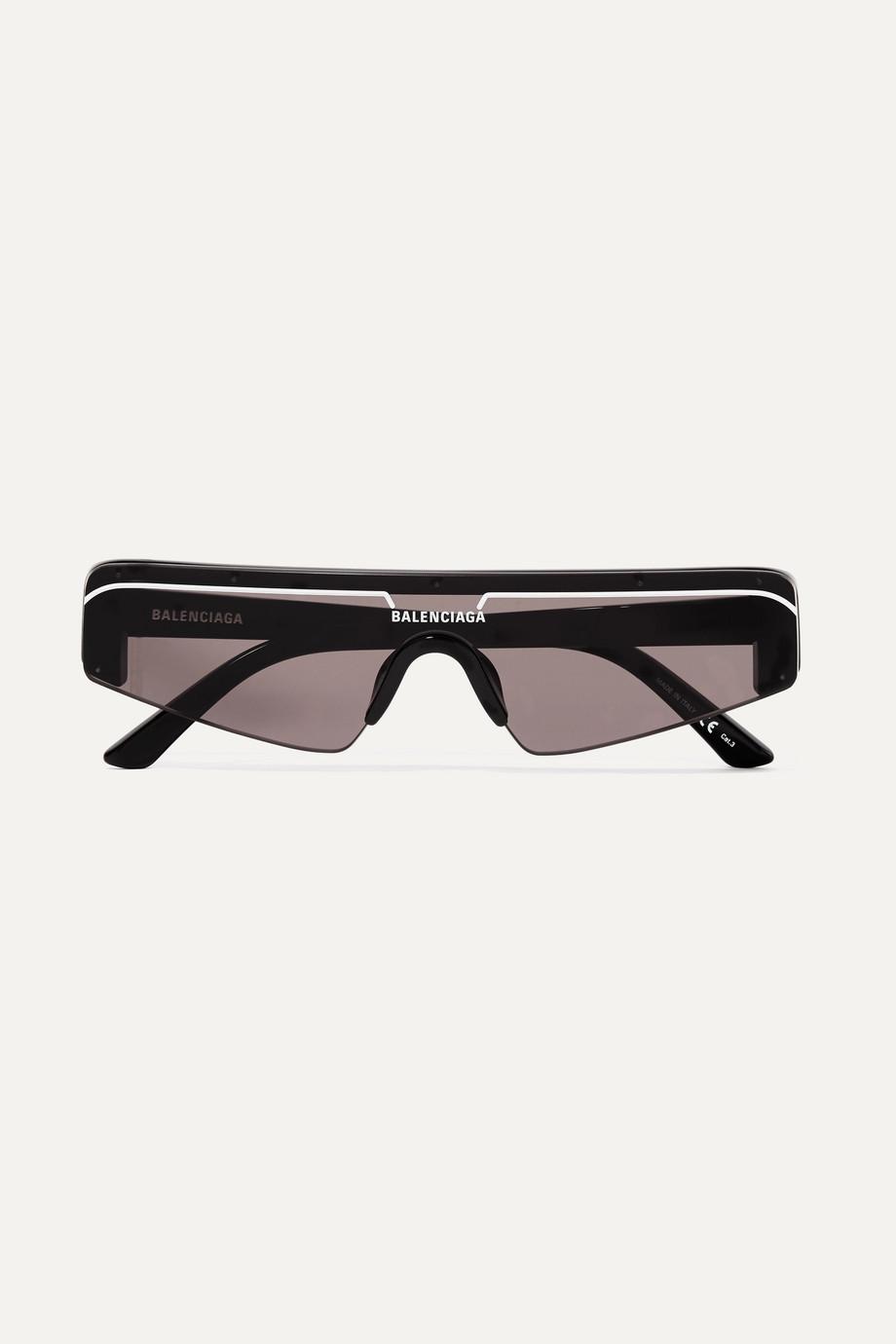 Balenciaga Ski D-frame acetate sunglasses