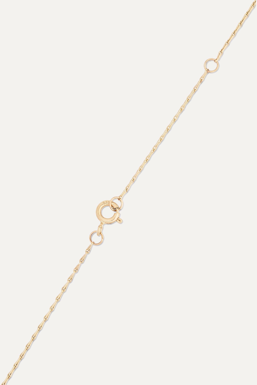 Pascale Monvoisin Hayett 9-karat gold diamond necklace