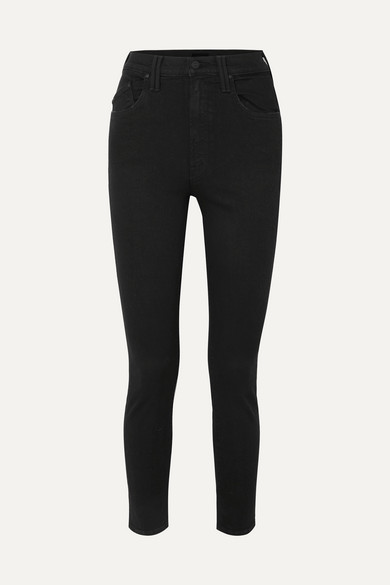 Mother Jeans The Diamond Swooner high-rise skinny jeans