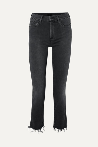 6384f2909484c Mother. The Rascal Ankle Snippet distressed mid-rise skinny jeans
