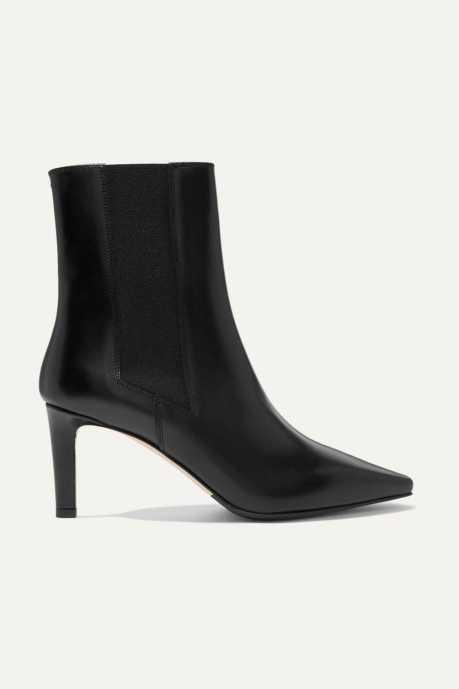 aeydē Leila leather ankle boots