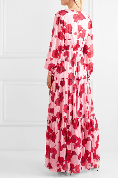 5176e5fa5b06 Borgo De Nor | Freya floral-print silk-georgette maxi dress | NET-A ...