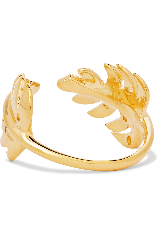 Aurélie Bidermann Grigri gold-plated ring