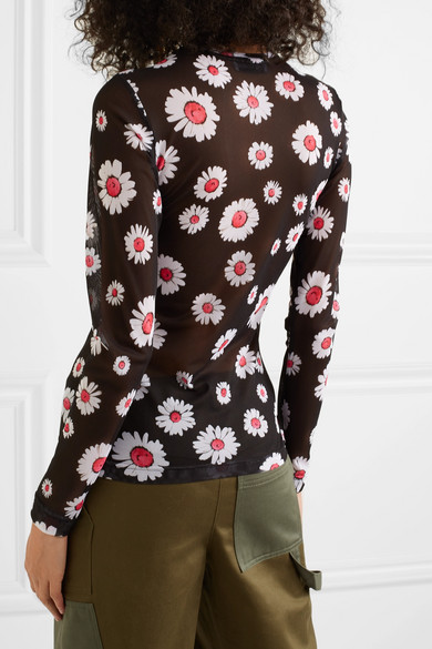 1f0ac14ee94 Molly Goddard. Freddie floral-print mesh top. £314 £18940% OFF. Reduced  further. Play