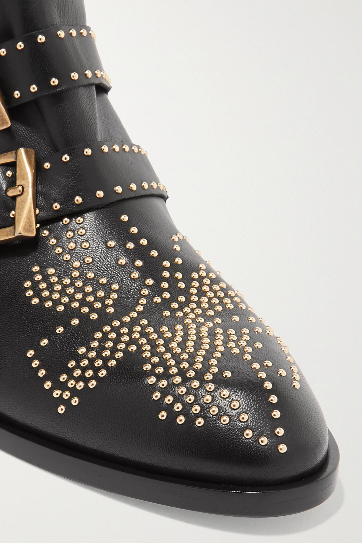 Chloé Susanna 铆钉皮革踝靴