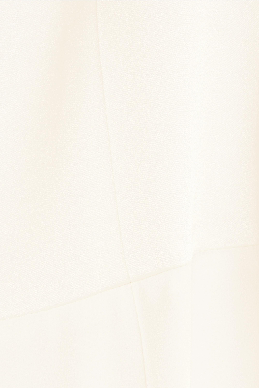 Galvan Paneled crepe jumpsuit