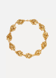 Alighieri The Museum of Memories gold-plated choker