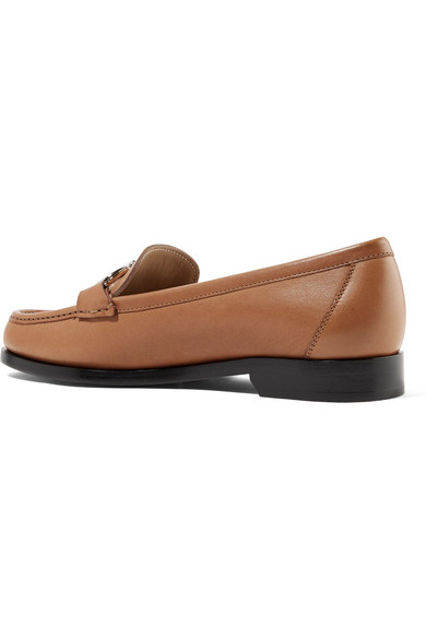 Salvatore Ferragamo Shoes Gancini leather loafers