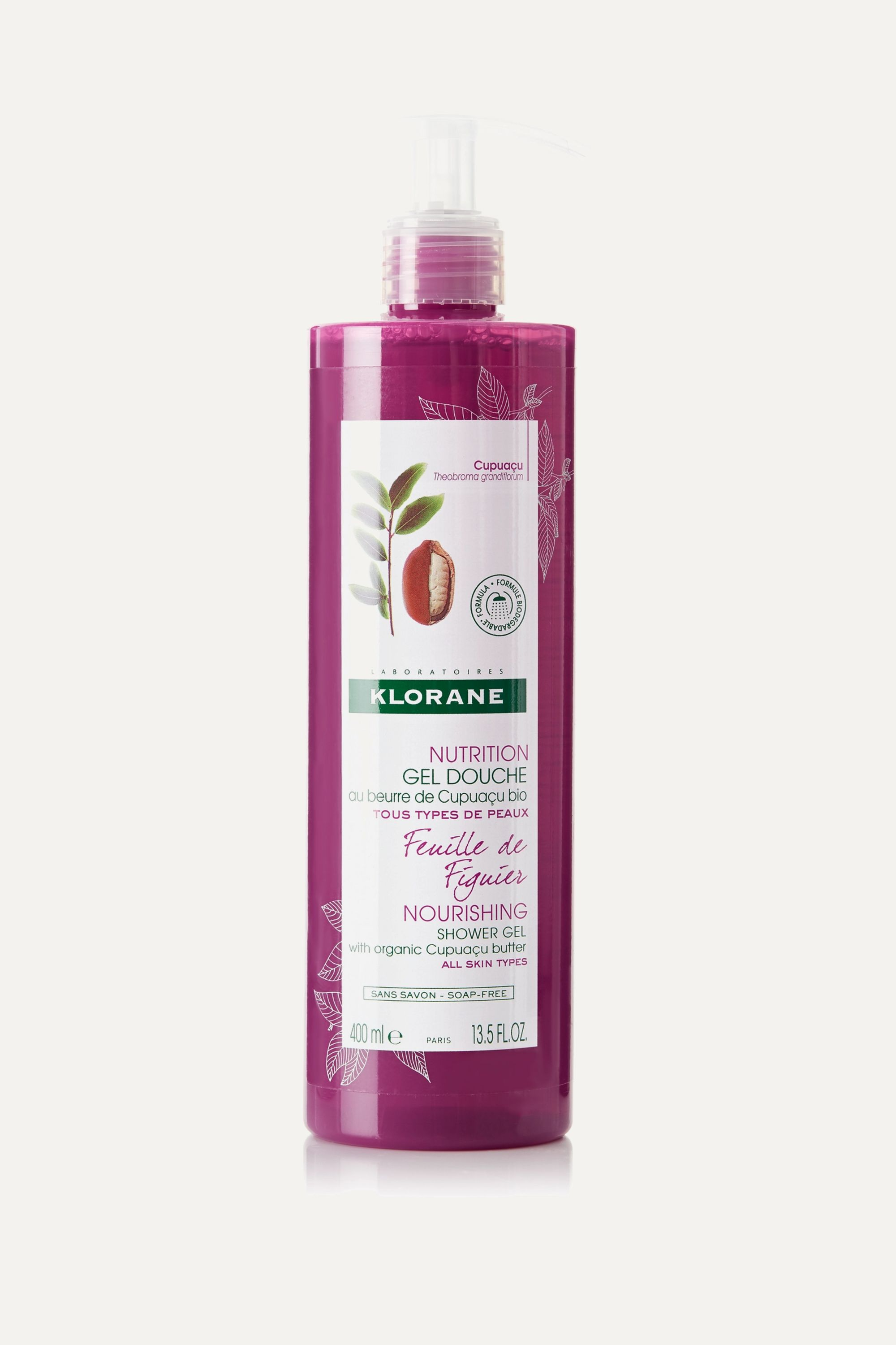 Colorless Fig Leaf Shower Gel With Cupuacu Butter 400ml Klorane Net A Porter