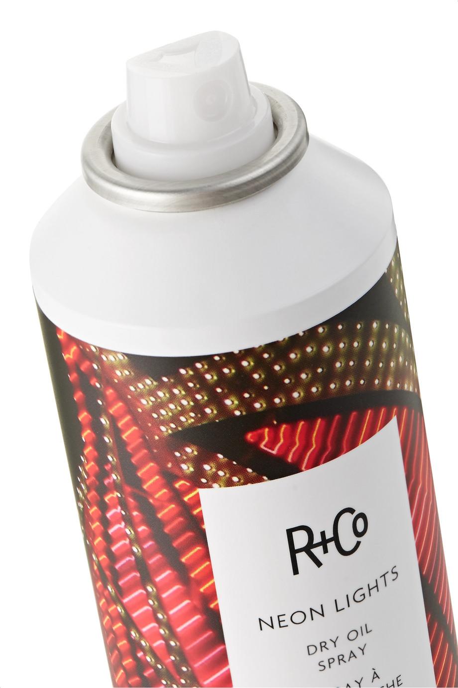 R+Co Neon Lights Dry Oil Spray, 118ml