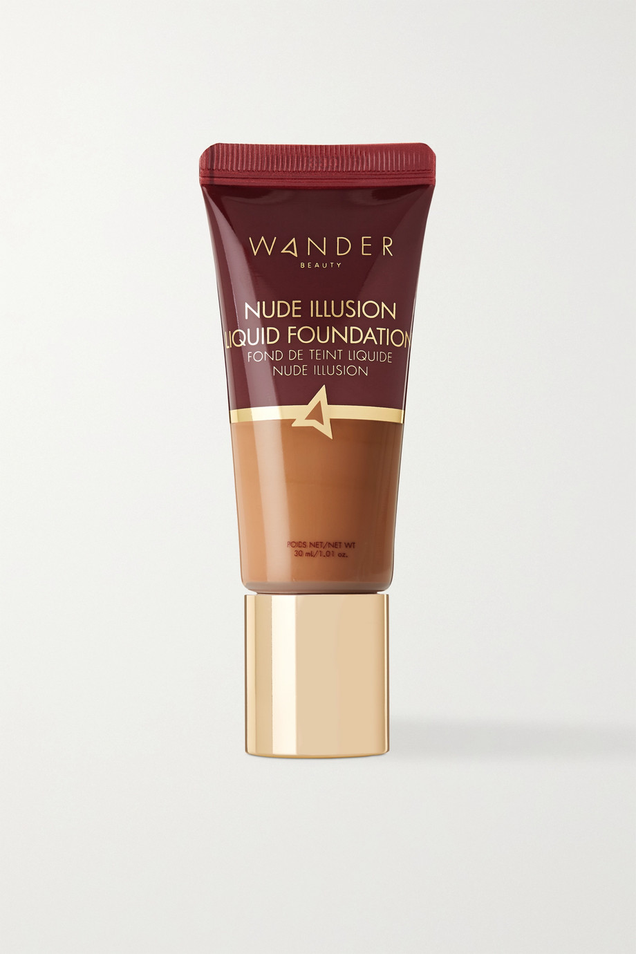 Wander Beauty Nude Illusion Liquid Foundation – Golden Medium – Foundation