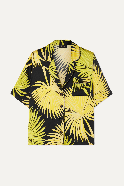 De La Vali Kid printed satin shirt