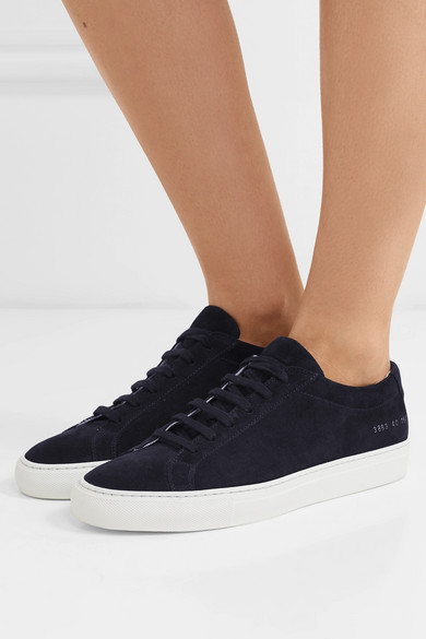 Common Projects Sneakers Original Achilles suede sneakers