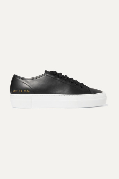 Common Projects Common Project Achilles Low Sneakers In Black