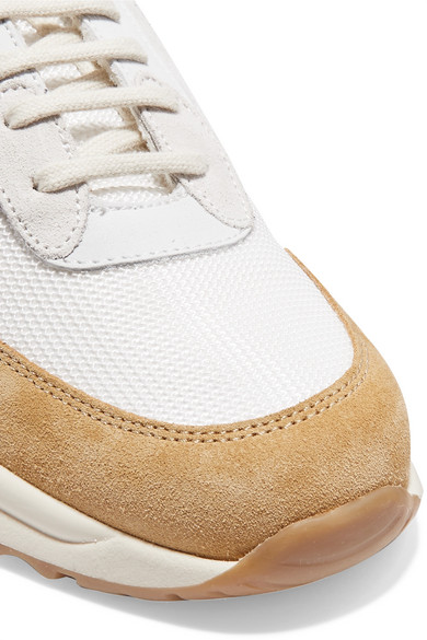 Common Projects Sneakers Track suede and mesh sneakers