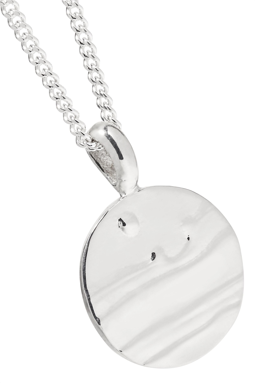Leigh Miller + NET SUSTAIN Dusk silver necklace