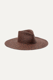 CLYDE Pinch straw Panama hat