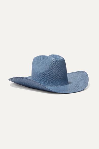 CLYDE | CLYDE - Straw Hat - Light Blue | Goxip