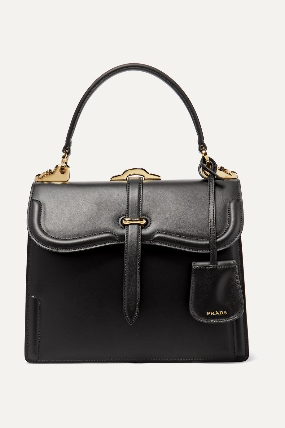 Prada Sidone leather shoulder bag