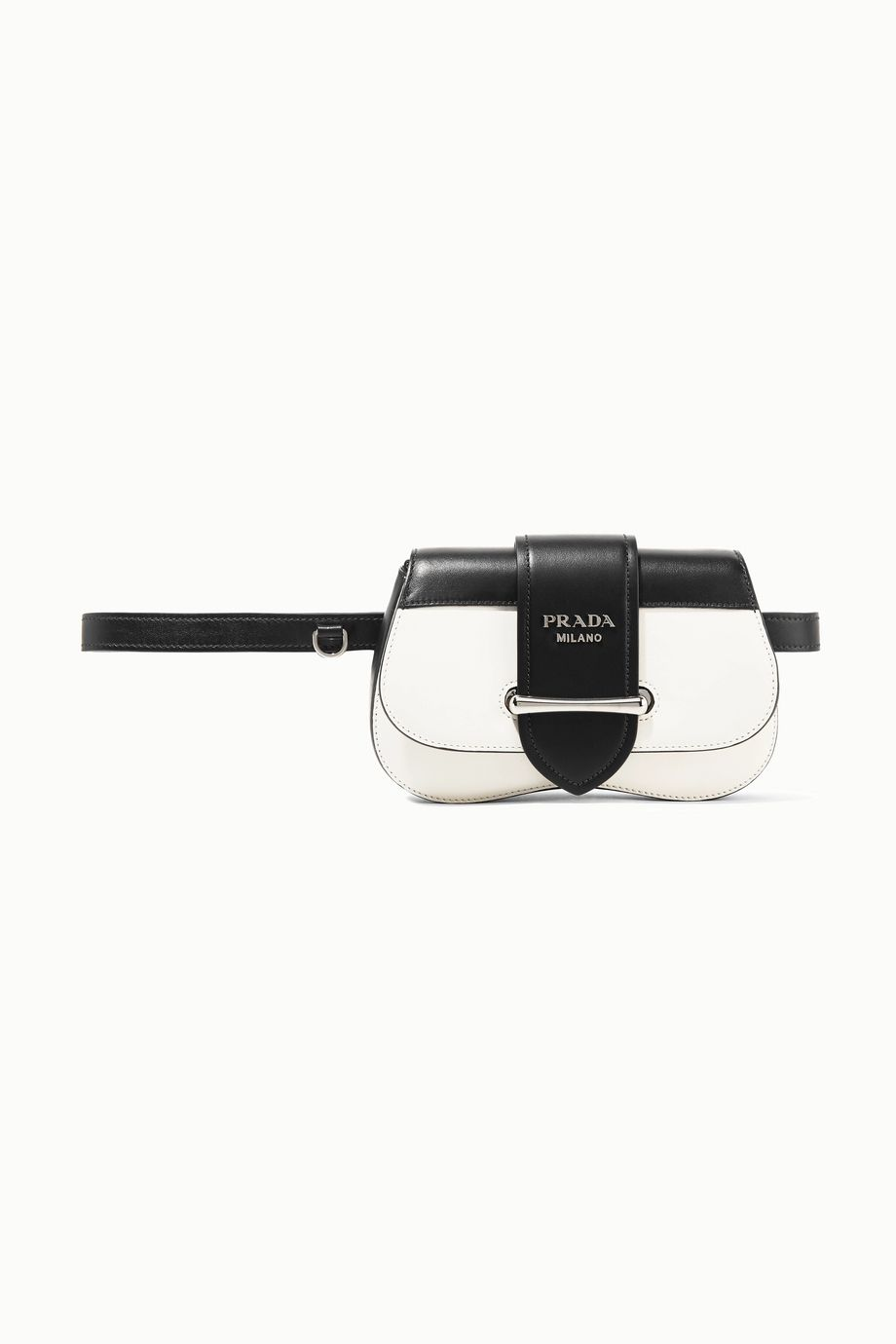 Prada Sidonie two-tone leather belt bag