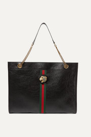 Rajah large embellished leather tote