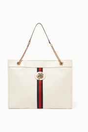 Gucci Rajah large embellished textured-leather tote