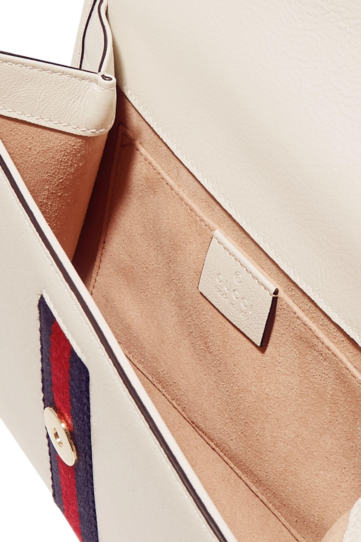Gucci Rajah small embellished leather shoulder bag