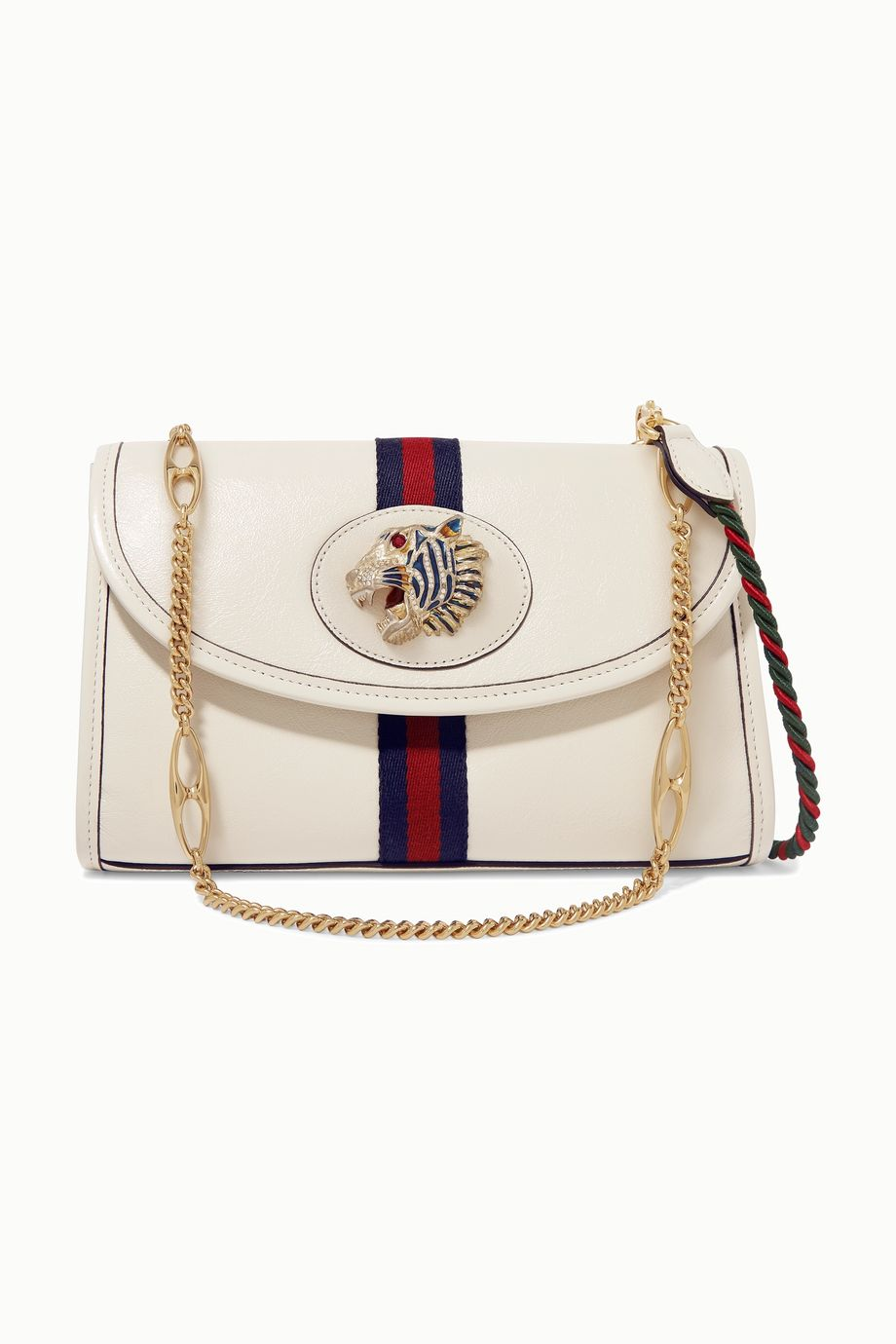 Gucci Rajah small embellished leather shoulder bag