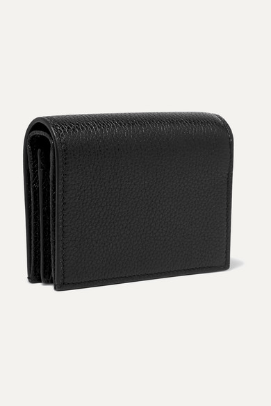 Gucci Wallets Zumi small embellished textured-leather wallet