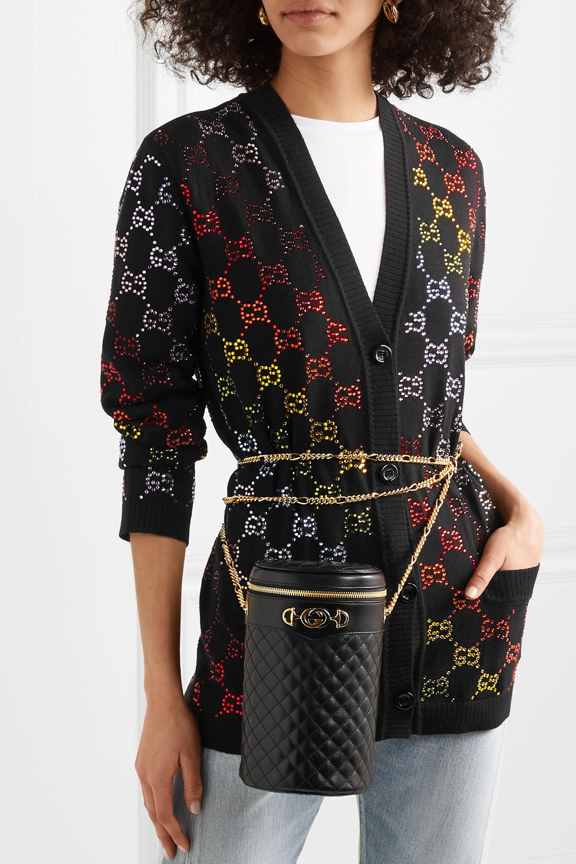 Gucci Gürteltasche aus gestepptem Leder
