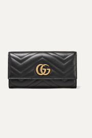 GG Marmont quilted leather wallet