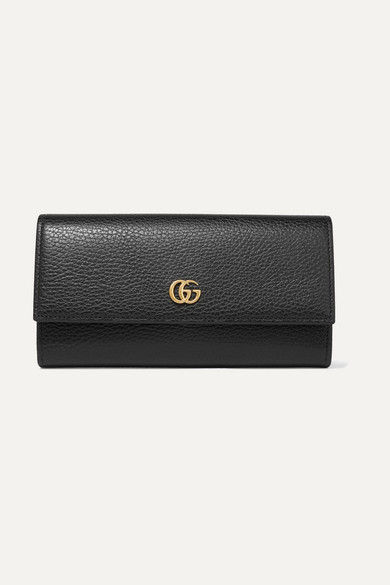 99474c017938ff Gucci. Textured-leather continental wallet. $570. Zoom In. Please select a  size